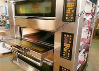 Stone Deck Pizza Oven , Stainless Steel Door Commercial Bread Oven