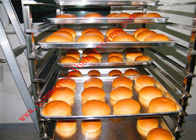 Bread Cake 16 Trays Gas Diesel Rotary Rack Oven Digital Control Long Life