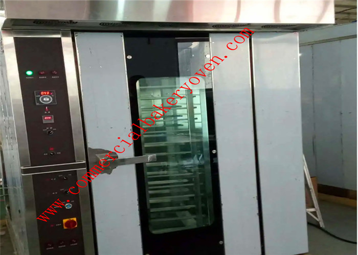 Philippines Style Bakery Rack Oven For Bread , Bakery Rotary Diesel Oven