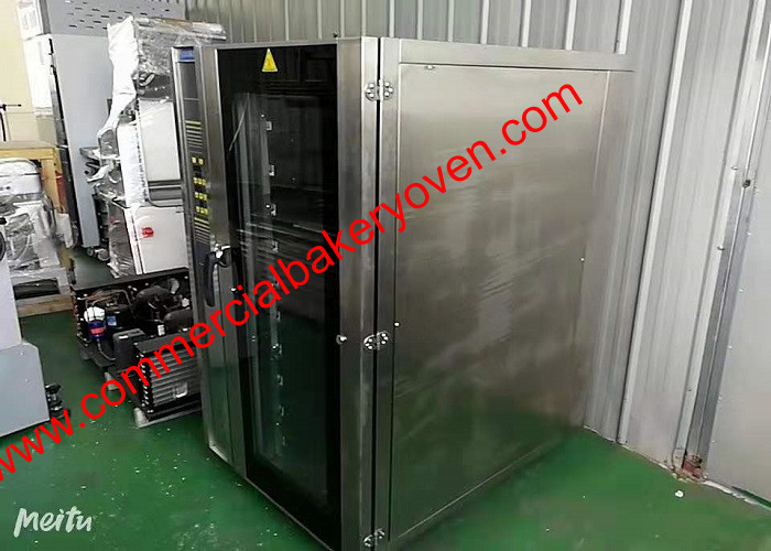 Big Capacity Electric Hot Air Bread Baking Oven Pc Control 18kw Power Consume