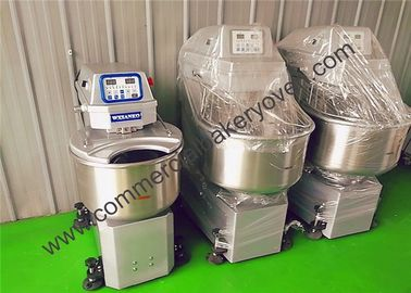 China Dough Kneader Bakery Dough Mixer 25kg 75kg Flour Spiral Mixer Fast Speed factory