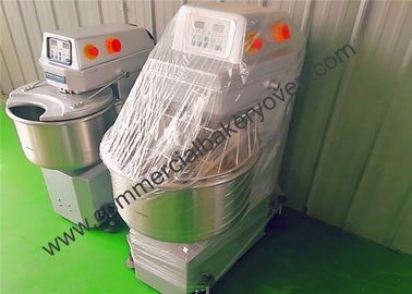 China Safety Bakery Equipment Spiral Mixer , Clean Easily Spiral Dough Mixer factory