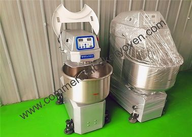 Three Bag Spiral Bakery Dough Mixer Flour Mixing 3 Phase 380v 50hz