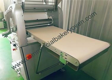 China Stainless Steel Bread Dough Sheeter Wear Resistant Adjust Wheel Height factory