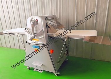 China 520mm Silver Bread Dough Sheeter Multi Funcitons Non Stick Easy Operation factory
