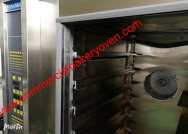 China 10 12 Trays Digital Control Bakery Convection Oven , Electric Hot Air Bread Oven factory