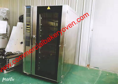 China Convection Hot Air Baking Oven Big Glass Door Digital Control With Steam factory